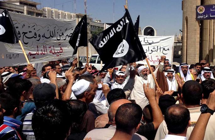 IS dần bị đẩy lui khỏi Iraq và Syria. Ảnh: MATO48