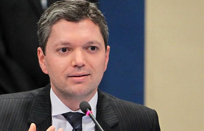 Bộ trưởng Chống tham nhũng Brazil Fabiano Silveira. Ảnh: ÉPOCA NEGÓCIOS
