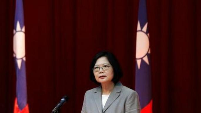 Tân lãnh đạo Đài Loan, bà Thái Anh Văn. Ảnh: REUTERS
