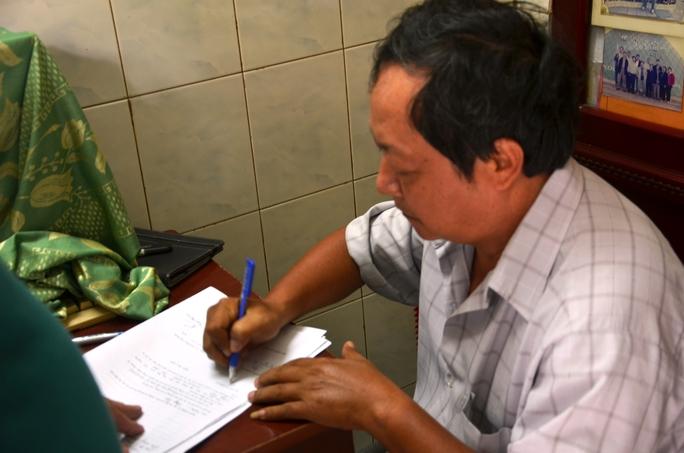 Nghi can Tăng Tân bị bắt giữ về hành vi tổ chức cá độ bóng đá qua mạng internet (ảnh công an cung cấp)