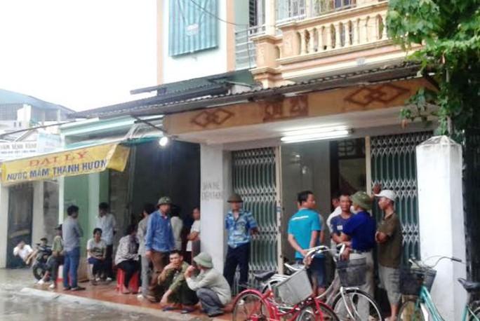 Ngôi nhà nơi xảy ra vụ việc anh Nguyễn Văn Tới tử vong bất thường
