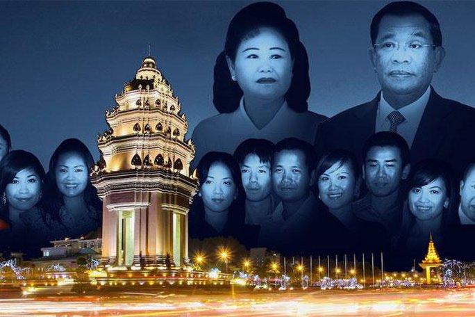Gia đình thủ tướng Hun Sen đã tích lũy được một khối tài sản khổng lồ. Ảnh: THE PHNOMPENH POST