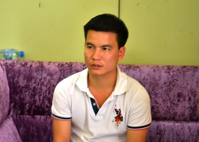 Nghi can Nguyễn Văn Minh tại công an