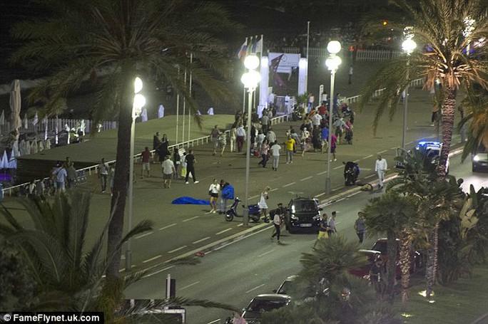 Bouhlel đỗ xe tải trên đường phố suốt gần 9 giờ trước khi thực hiện vụ tấn công. Ảnh: FAMEFLYNET
