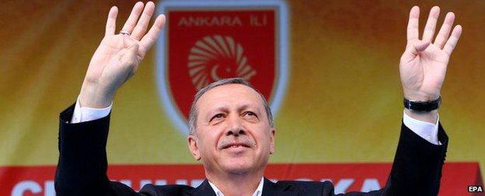 Tổng thống Thổ Nhĩ Kỳ Recep Tayyip Erdogan. Ảnh: EPA