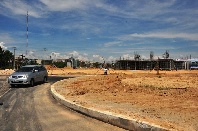 Nhiều hạng mục của Khu đô thị VSIP Quảng Ngãi đã được triển khai