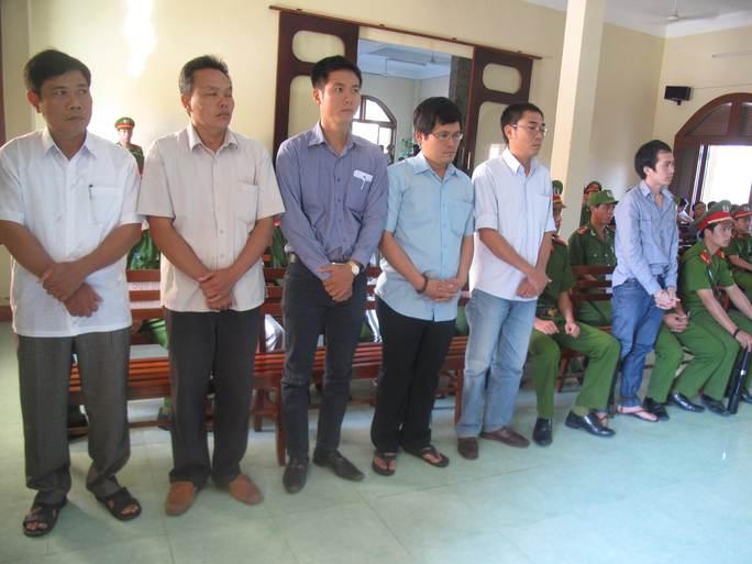 6 bị cáo trong vụ công an dùng nhục hình dẫn đến chết người xảy ra tại Công an TP (Phú Yên)Tuy Hòa