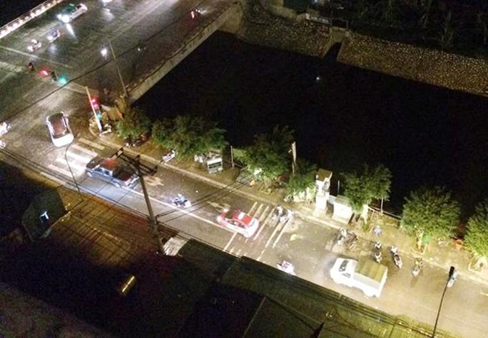 Khu vực xảy ra vụ việc sát gần khu đô thị - Ảnh Facebook