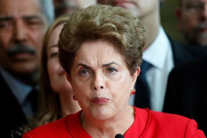 Cựu Tổng thống Brazil Dilma Rousseff. Ảnh: REUTERS