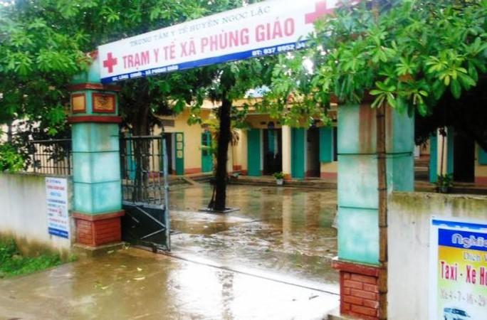 Công trình Nhà chức năng Trạm Y tế xã Phùng Giáo, huyện Ngọc Lặc, tỉnh Thanh Hóa - bị tố kê khống để rút ruột hàng trăm triệu đồng
