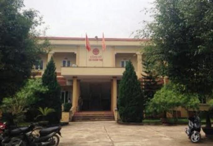 Công sở xã Xuân Thọ, nơi ông Lê Văn Hà đang công tác