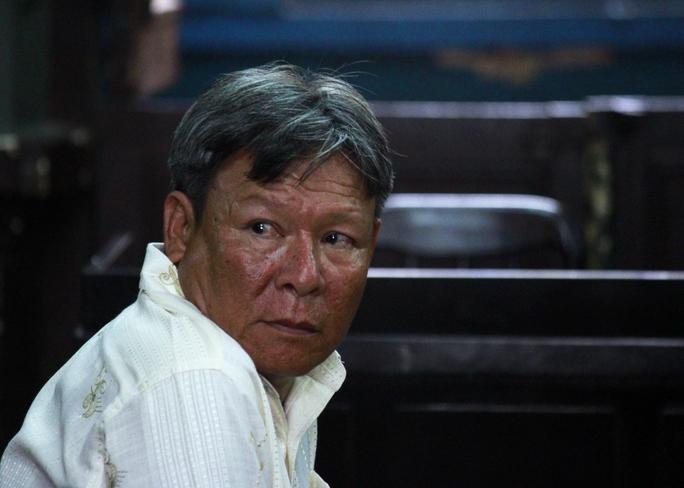 Bị cáo Nguyễn Minh Tân tại tòa.