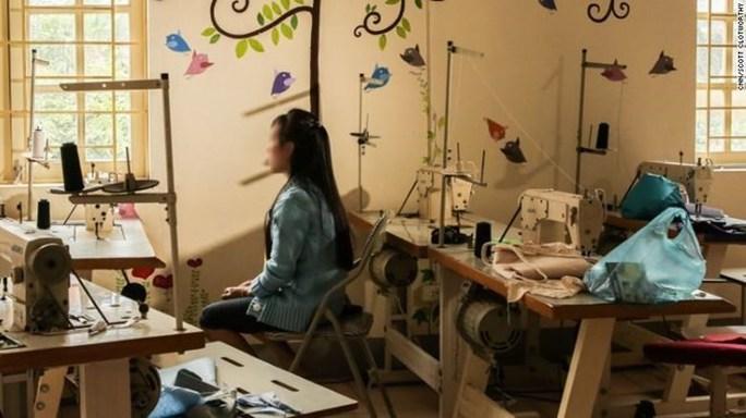 Một cô gái Việt Nam bị lừa bán sang Trung Quốc. (Nguồn: QQ)