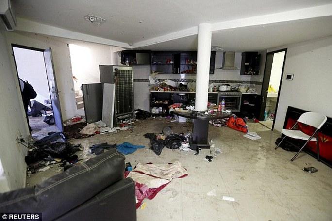 Ngôi nhà Guzman bị bắt giữ hôm 8-1. Ảnh: Reuters