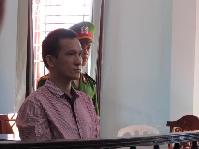 Bị cáo Phạm Tuấn Anh tại phiên tòa phúc thẩm