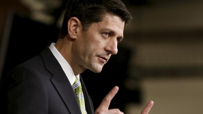 Chủ tịch Hạ viện Mỹ Paul Ryan là nghị sĩ giữ chức cao nhất của đảng Cộng hòa. Ảnh: Reuters