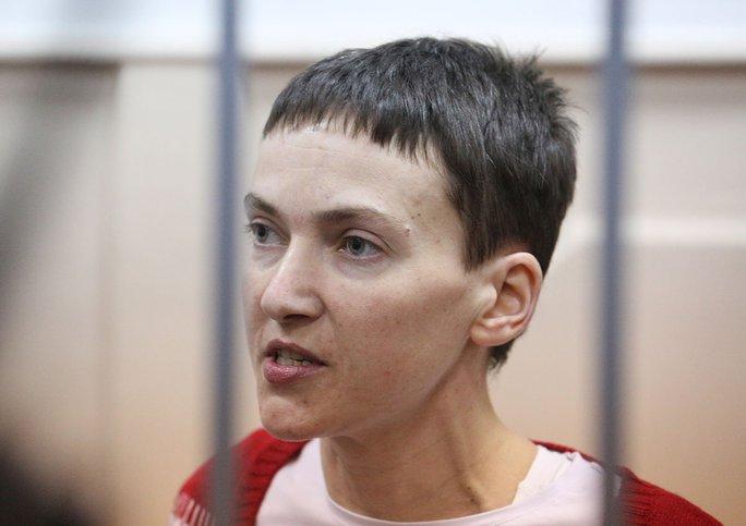 Nữ phi công Ukraine Nadiya Savchenko bị kết án 22 năm tù giam. Ảnh: ITAR TASS