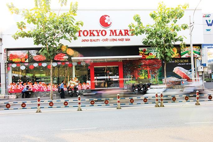 Một siêu thị Nhật Bản trên đường Xô Viết Nghệ Tĩnh, TP HCM. Ảnh: Thành Hoa