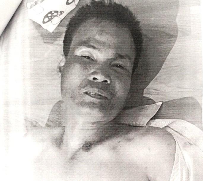 Nạn nhân (ảnh); không rõ danh tính, khoảng 40 tuổi, bị đánh đa chấn thương dẫn đến tử vong.