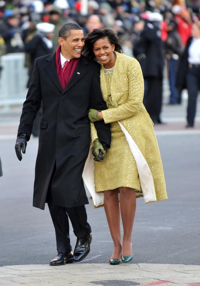 Tổng thống Obama và đệ nhất phu nhân Micheal Obama là những người rất sành điệu trong khoản trang phục