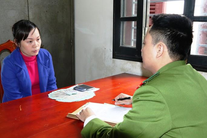 Phạm Thị Loan tại cơ quan điều tra