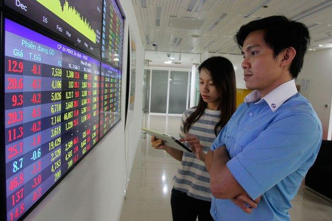 Thị trường chứng khoán khởi sắc trong thời gian gần đây Ảnh: HOÀNG TRIỀU