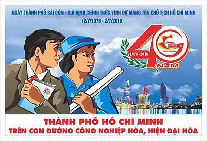 """Bức tranh cổ động đoạt giải khuyến khích năm 2011 in trong quyển """"Mỹ thuật Bình Thuận"""" và bức tranh đoạt giải nhất năm 2016 trong cuộc thi sáng tác tranh cổ động chào mừng 40 năm thành phố mang tên Chủ tịch Hồ Chí Minh"""