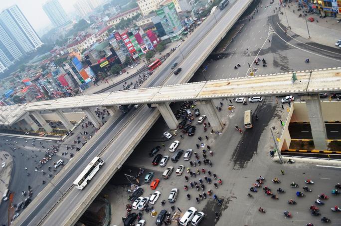 Việc thông hầm chui Thanh Xuân sẽ hạn chế ùn tắc giao thông và giảm tải áp lực giao thông cho TP Hà Nội
