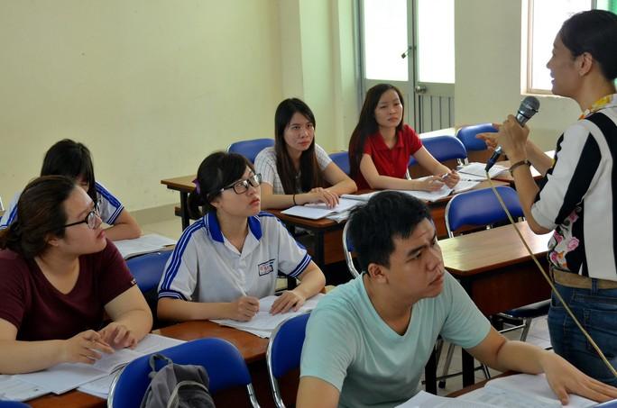 Sinh viên Trường ĐH Sư phạm TP HCM trong giờ học Ảnh: TẤN THẠNH