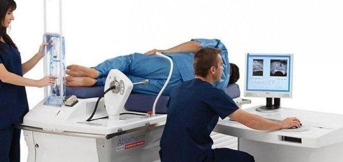 Phương pháp chữa trị ung thư tuyến tiền liệt đã được áp dụng một số nơi, trong đó có MỹẢnh: HIT CONSULTANT
