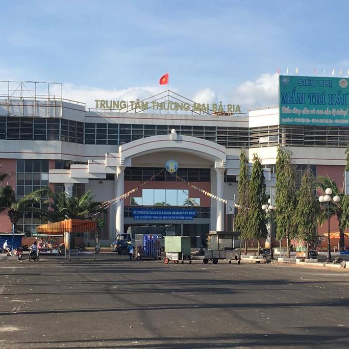 Trung tâm thương mại Chợ Bà Rịa, nơi xảy ra vụ thu chi không đúng quy định 774 triệu đồng