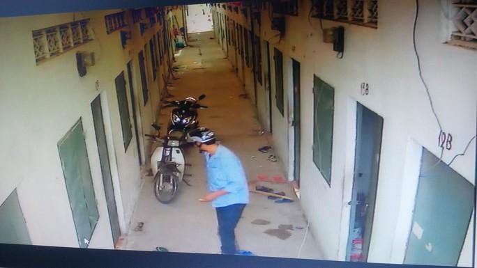 Hình ảnh tên trộm bị camera ghi lại