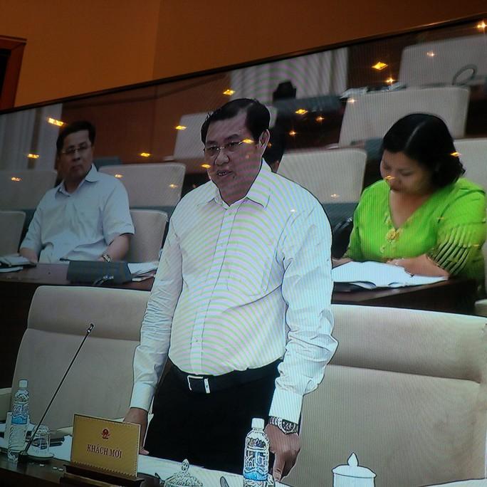 Chủ tịch UBND TP Đà Nẵng Huỳnh Đức Thơ trình bày thêm đề xuất cơ chế đặc thù đối với TP thủ phủ Miền Trung.