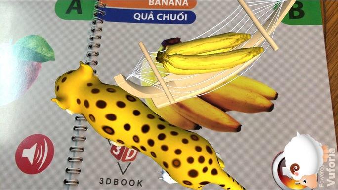 """Hình ảnh ngộ nghĩnh, sống động trong cuốn sách 3D """"ABC Fruits"""""""
