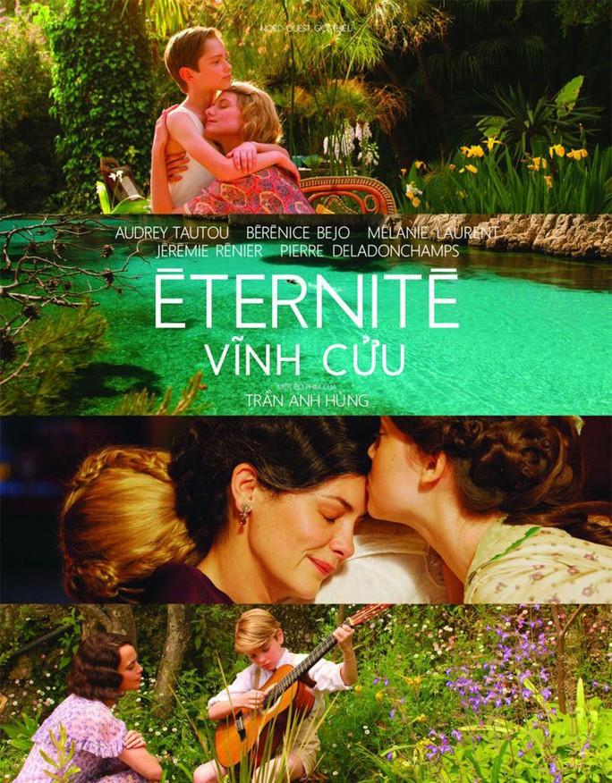 """Poster phim """"Vĩnh cửu"""" (Ảnh do Trung tâm Văn hóa và Ngôn ngữ Pháp cung cấp)"""