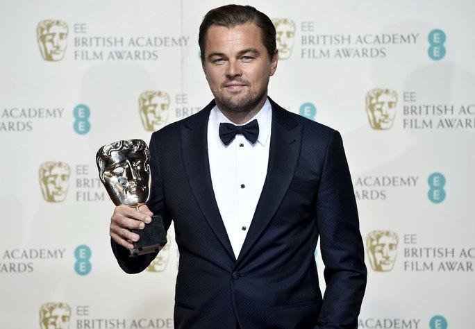 Leonardo DiCaprio được vinh danh tại lễ trao Giải BAFTA Ảnh: REUTERS