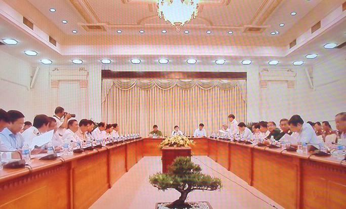 Cuộc họp về an toàn giao thông chiều 16-8