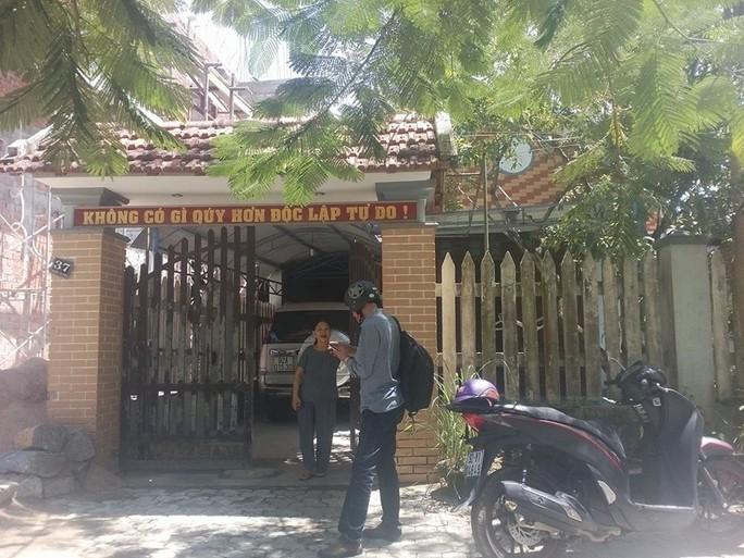 Nhà ông Huỳnh Tấn Sâm bị mất trộm