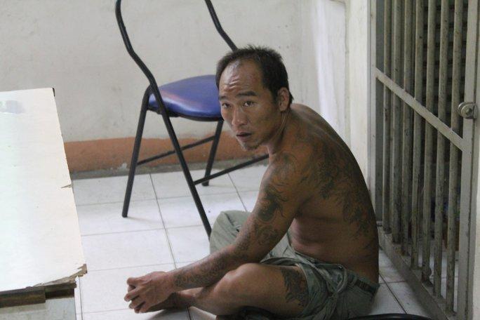 Đối tượng Nguyễn Nhật Luật (26 tuổi, ngụ quận Thủ Đức)