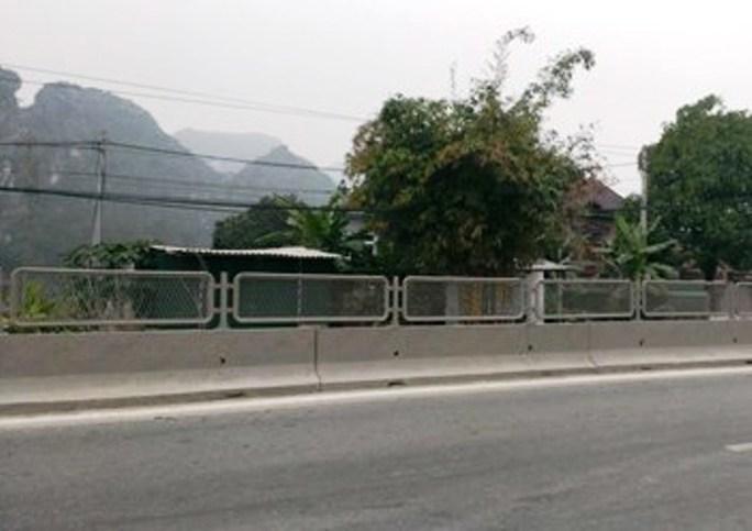 Đoạn đường nơi xảy ra vụ nổ súng sau va chạm giao thông
