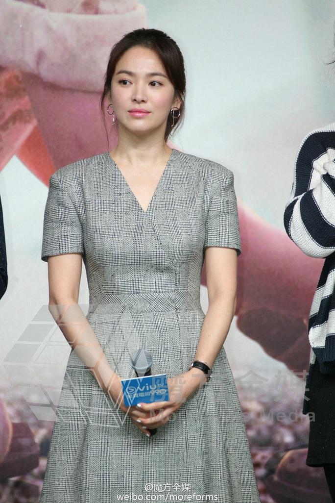 """Song Joong Ki chia sẻ về phim """"Hậu duệ mặt trời"""""""