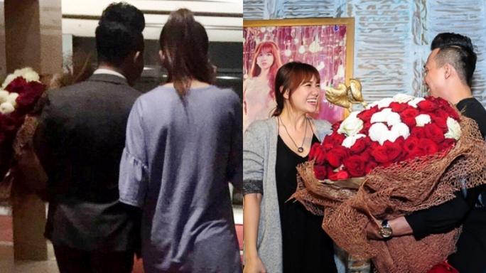 Nhưng công chúng cũng phát hiện ra, bó hoa này trước đó một ngày được dùng để cầu hôn
