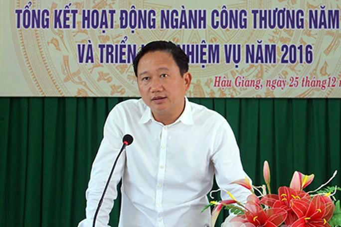 Ông Trịnh Xuân Thanh - nguyên phó chủ tịch UBND tỉnh Hậu Giang