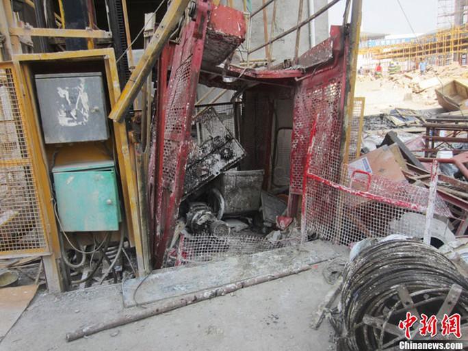 Nhiều tai nạn thang máy ở Trung Quốc khiến dư luận quan ngại.