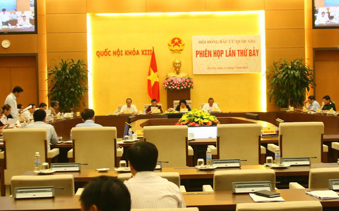 Hội đồng bầu cử Quốc gia họp phiên thứ 7 cho ý kiến về tư cách Đại biểu Quốc hội khoá XIV