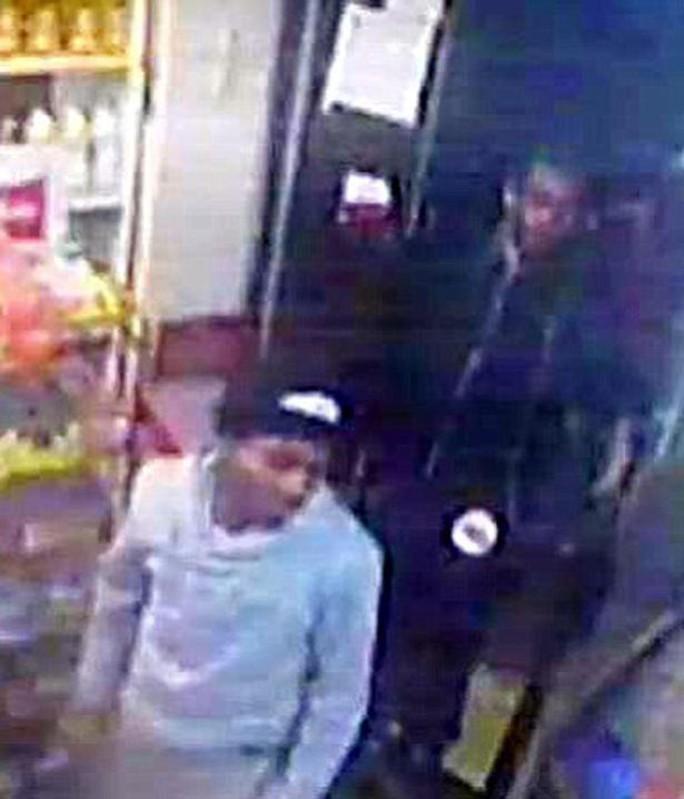 Hình ảnh các nghi phạm bị camera giám sát ghi lại. Ảnh: NYPD