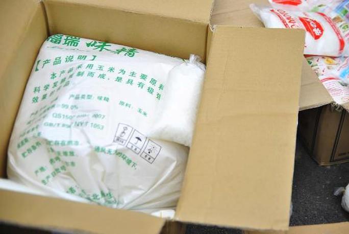Mì chính Trung Quốc lập mua về để hô biến thành mì chính Ajino-moto, Miwon