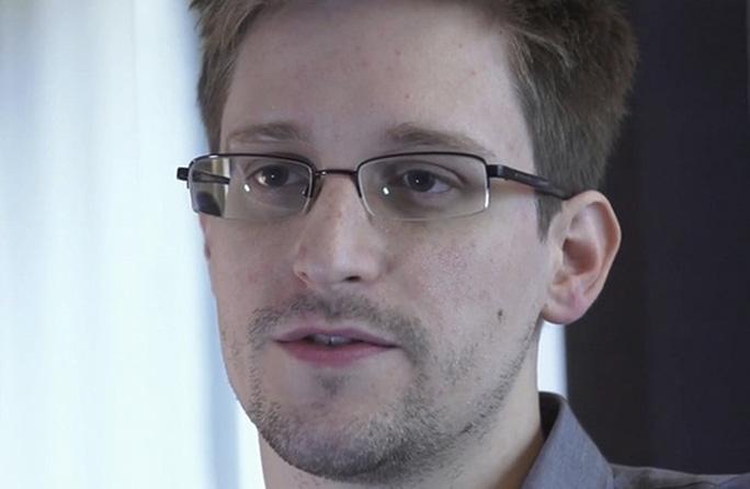 Edward Snowden đang tị nạn ở Nga. Ảnh: AP