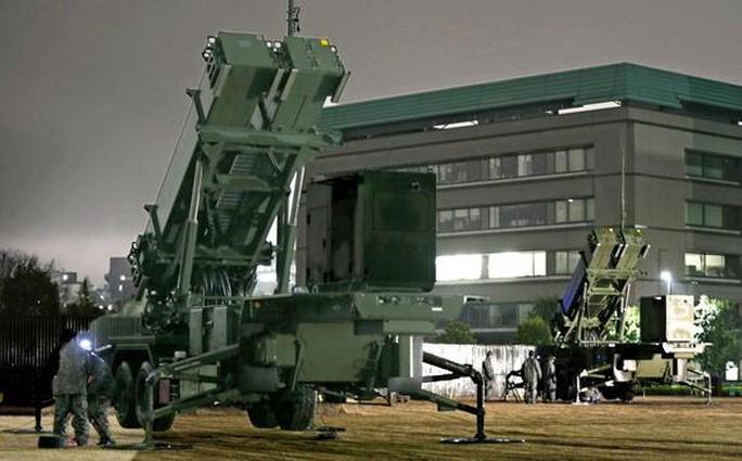 Bộ Quốc phòng Nhật Bản triển khai hệ thống phòng thủ tên lửa ở Tokyo. Ảnh: Nikkei