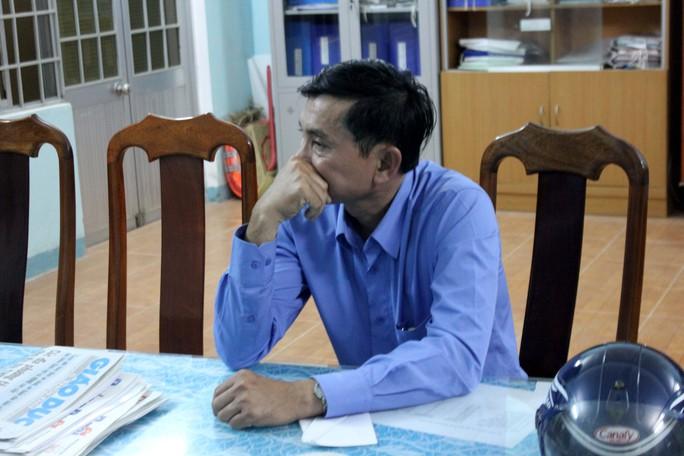 Ông Nguyễn Văn Hoàng, người tát cháu Trương Minh Hoàng 4 bạt tai. Ảnh: T.Trực